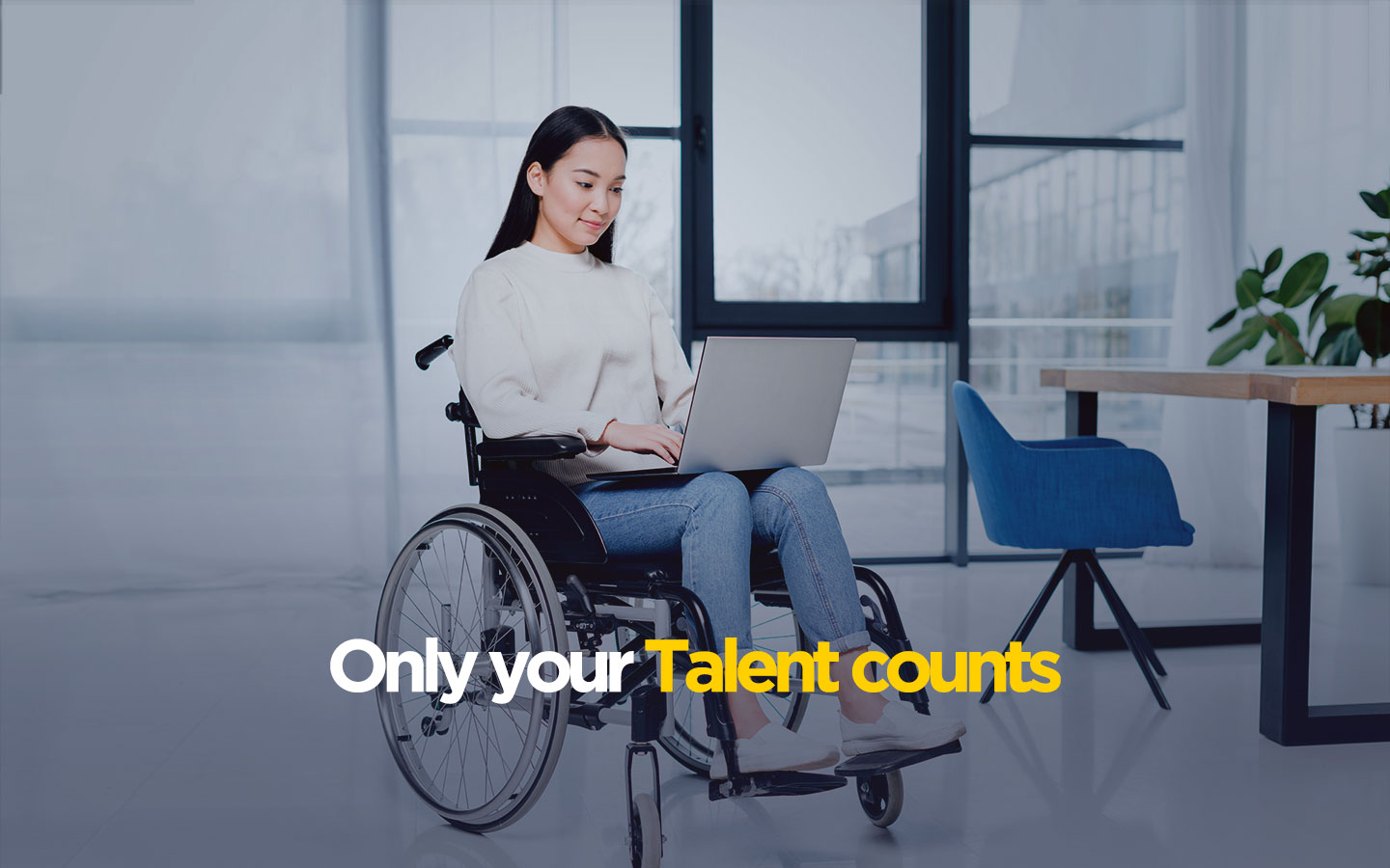 only talent counts